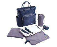 Beaba 940235 - Borsa fasciatoio Kyoto Beaba, colore: Blu