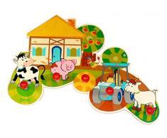 Hess Spielzeug 30304 gruccia per Abiti Multicolore