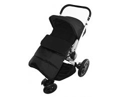 Coprigambe/Cosy Toes compatibile con out N About Little Nipper passeggino Black Jack