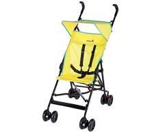 Safety 1st Peps Passeggino Ultra Compatto e Leggero, Chiusura Ombrello, con Capottina, Pieghevole da Viaggio, Pop Yellow