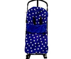 Snuggle coprigambe/Cosy Toes compatibile con passeggino Bugaboo Donkey Cameleon Bee Buffalo stella blu