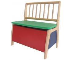 Geuther – Cassapanca adatta a gruppo di sedie da bambino.