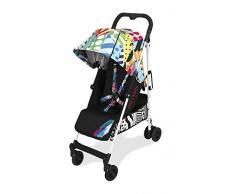 Passeggino Maclaren Quest arc Jason Woodside - Da neonati in su, leggero. Facile da guidare, piegare, trasportare. Cappottina estensibile, sedile reclinabile, 4 ruote ammortizzate. Accessori inclusi.