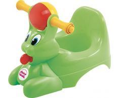 Okbaby 37824430 - Vasino per Bambini con Seduta Ergonomica, a Forma di Coniglio - Verde