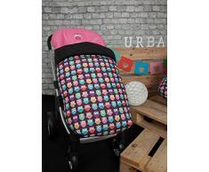 Babyline gufi - Sacco di sedia di passeggino Rosa