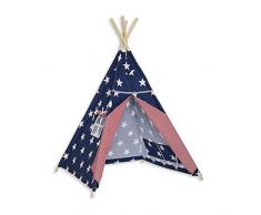 Fun with mum TEE-TEN-MAR-CLI - Tenda Tipi, multicolore