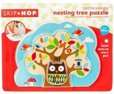 Skip Hop, Puzzle giocattolo in legno per bambini