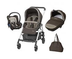 Bébé Confort 19478981 Trio Streety Next Passeggino, Earth Brown