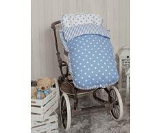 Babyline giostra - Sacco di sedia di passeggino blu