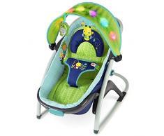 Bright Starts/Kids II 60487 Sdraietta Convertibile in Culla per Dormire, Multicolore