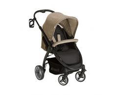 Hauck 4007923148051 Lift Up 4 – Auto sportive, Baby passeggino reclinabile, regolabile in altezza e bevande titolare con una mano Piccolo ingombro, Beige