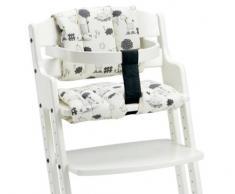 Baby Dan 2436-2400-85 - Imbottitura per seggiolone con stampa a disegni