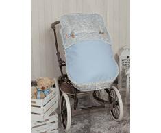 Babyline Caramello - Sacco di sedia di passeggino blu