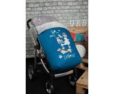Babyline Dogs – Sacco di sedia di passeggino blu