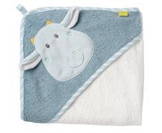 Fehn, Asciugamano Da Bagno con cappuccio, In Cotone, Per Neonati E Bambini dai 0 Mesi