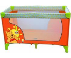 Disney Lettino da Viaggio Winnie the Pooh arancione