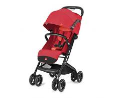 GB GOLD Qbit+ All Terrain Passeggino, Luxus Traveller, Sistema di Viaggio 3 in 1, dalla Nascita fino a 17 Kg, circa 4 Anni, Rose Red