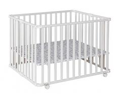 Geuther 2260WE15 - Box per bambini Ameli 2260WE Monster, bianco