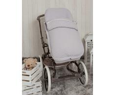 Babyline Sweet - Sacco di sedia di passeggino grigio