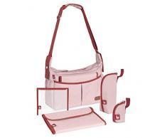 Babymoov A043591 Babymoov Urban Bag Borsa fasciatoio, Rosa chiné
