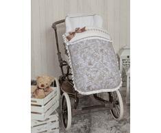 Babyline Paseos di Toile - Sacco per sedia di passeggino grigio