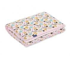 Pepi Leti 685843716785 - Coperta per bambini, 100 x 75 cm, colore: Rosa chiaro