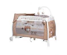 Lorelli Ilounge - Letto pieghevole per neonato, colore: Beige