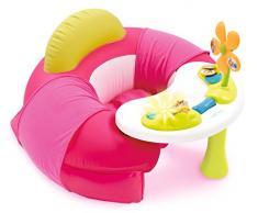 Smoby 110211 - Cotoons Tavolo seduta con attività per bambini, Rosa