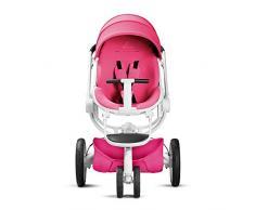 Quinny Moodd Passeggino Fronte Retro, Reclinabile Reversibile, Apertura Automatica, 3 Ruote, Pink Passion