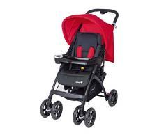 Safety 1st, Set passeggino modulare Trendideal, Nero (schwarz-rot)