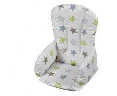Geuther, Riduttore per seggiolone, Beige (Beige mit Sternen braun, grün, blau)
