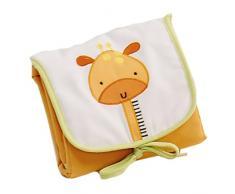 Interbaby, Set per letto da bambino, 3 pz. (Trapunta, Paracolpi e cuscino) FÜR GROSSEN KINDERBETT 70X130, Rosa (pink)