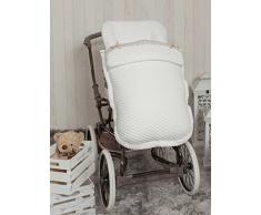 Babyline Sweet – Sacco di sedia di passeggino bianco