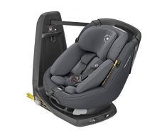 Bébé Confort Axissfix Plus Seggiolino Auto Isofix 0-18 kg, Girevole 360°, Reclinabile, ece R129 I-Size, per Bambini dai 0 a 4 Anni, Cuscino Riduttore, Authentic Graphite