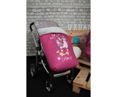 Babyline Dogs - Sacco di sedia di passeggino Rosa