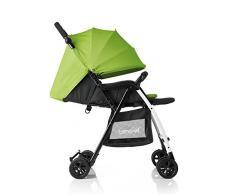 Brevi Mini Large 709262 - Passeggino per bambini, Verde- Nero