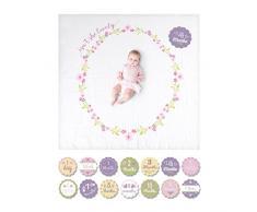 Lulujo Baby - Baby Milestone Carte e Coperta Set