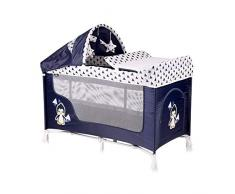 Lorelli San Remo 2+ - Letto pieghevole per neonato, colore: Blu
