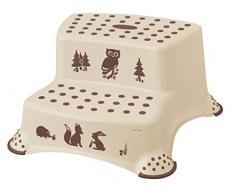 """keeeper 1003187613800 Igor""""Forest sgabello per bambini a due livelli, con funzione antiscivolo, crema/beige"""