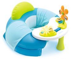 Smoby 110210 - Cotoons Tavolo seduta con attività per bambini, Blu