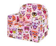 Lulando Classic Poltrona Sedia per Bambini Baby Bambini Couch Mini Sedia Bambini Mobili per sala giochi e camerette dei bambini.