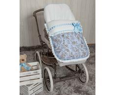 Babyline Paseos di Toile – Sacco per sedia di passeggino blu