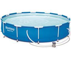 Bestway Steel Pro 56681 piscina fuori terra Piscina con bordi Piscina rotonda 6473 L Blu