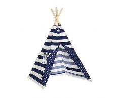 Fun with mum TEE-TEN-NAV-STR - Tenda Tipi con strisce navy