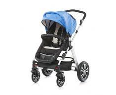 Chipolino Baby Travel-Passeggino e culla portatile, Tempo, colore: blu