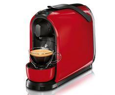 Tchibo Cafissimo Pure Macchina per il caffè, a capsule, per caffè espresso e caffè con crema, rosso