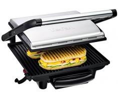 Tefal Inicio GC241D Contact grill Tabletop Electric 2000W Black,Silver barbecue - barbecues & grills (2000 W, Contact grill, Electric, 750 cm², 0.9 m, Tabletop)