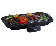 Ardes AR1B01 - Barbecue Senza Fumo Elettrico Portatile, Regolazione Temperatura, 2200 W, Nero