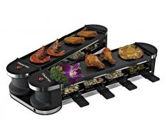 Suntec Rac-8151 Flex 8 Metal Raclette, Acciaio Inossidabile, Nero