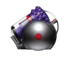 Dyson 157353-01 Cinetic Big Ball Parquet - Aspirapolvere, 1.6 litri, 1200 W, Viola/Nero/Rosso